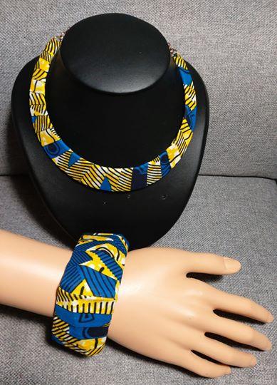 """La parure collier bracelet """"les Lumineuses"""" n°5"""