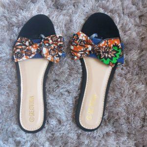 sandales en wax