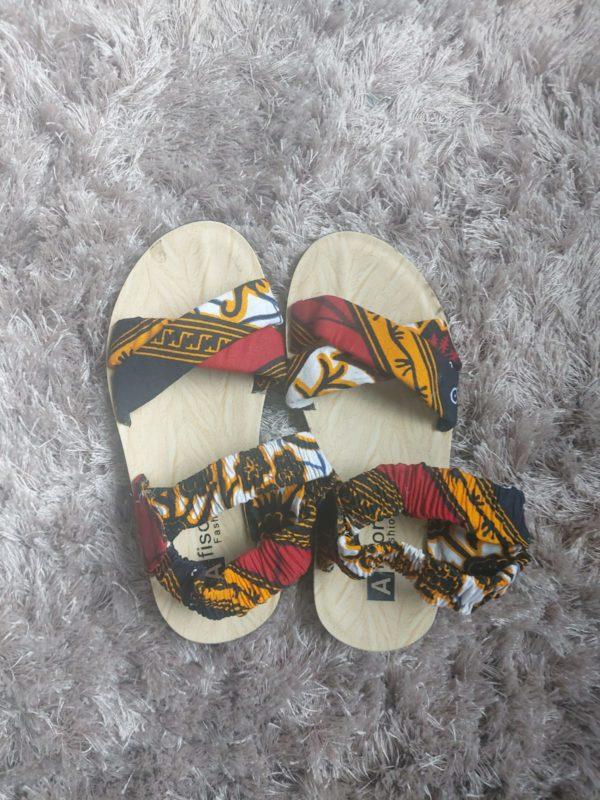 Chaussures en wax pour enfants