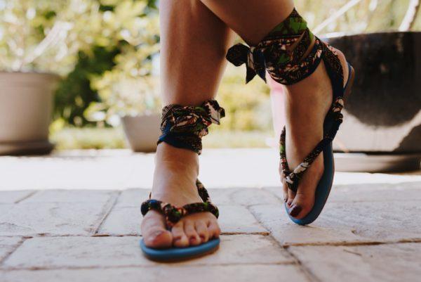 Sandales femme mode africaine : unique et original en ligne