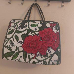 sac tendance wax fleuri original