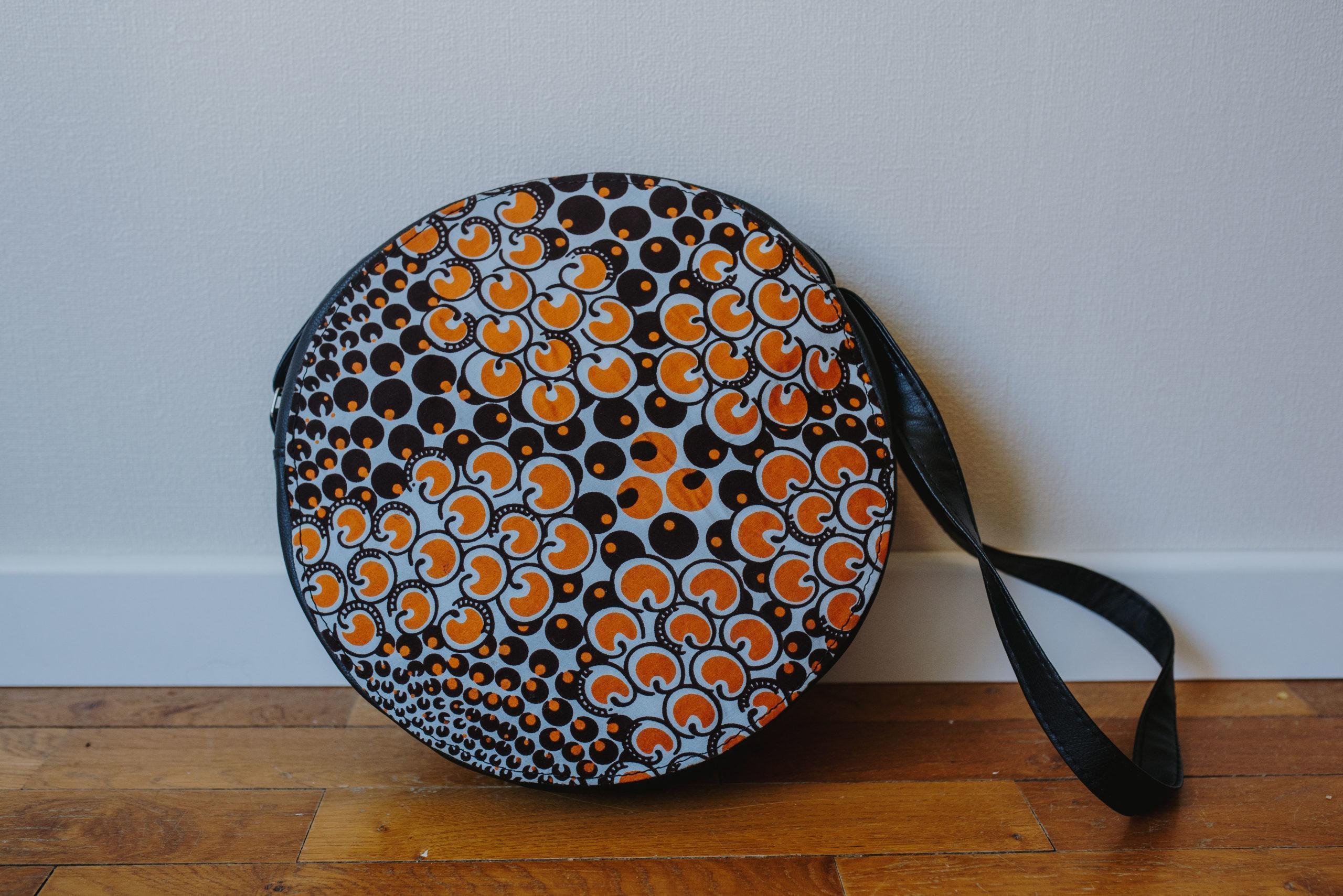 sac à bandoulière en wax