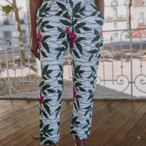 pantalon intemporel floral