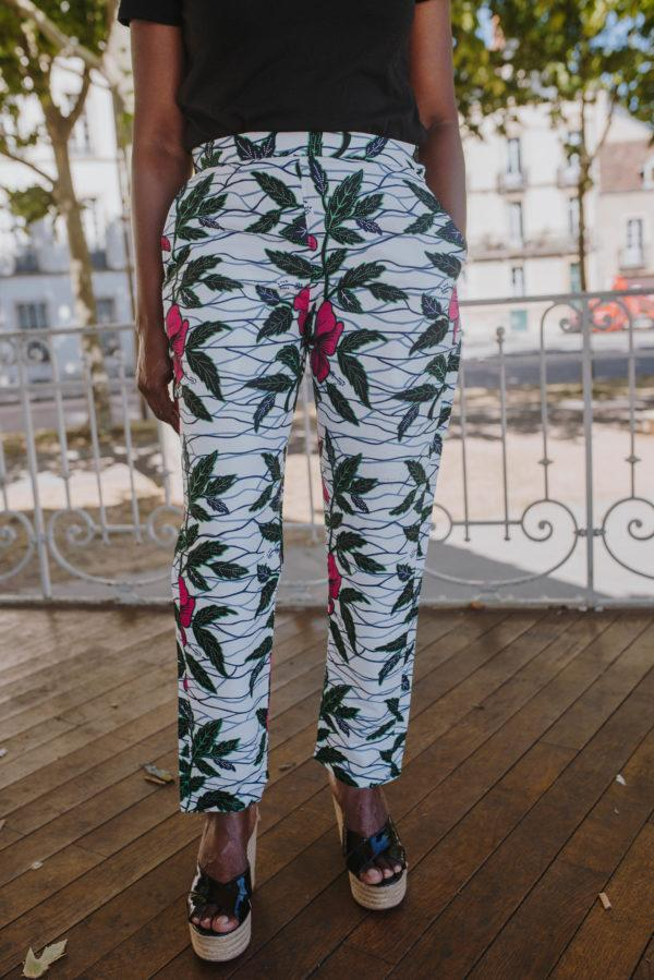 pantalon intemporel floral