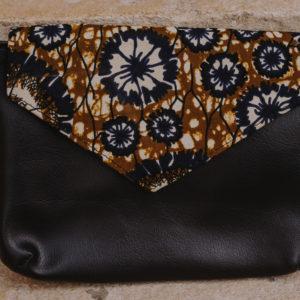 sac banane en wax n°6 ou pochette
