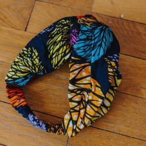 Bandeau wax multicolore