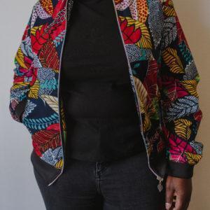 Bomber multicolore Wax