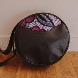 sac bandoulière rose Wax