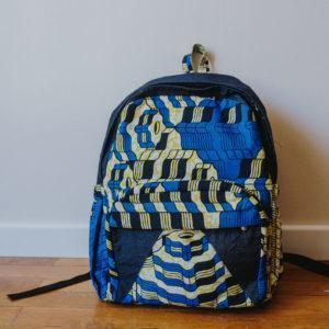 sac à dos Wax bleu