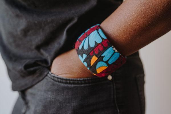"Bracelets Wax ""les Lumineuses"" n°17"