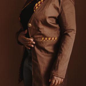 blazer intemporel Marro
