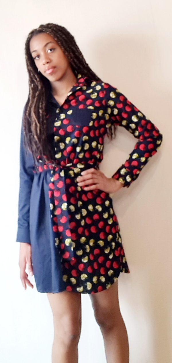 Robe tunique créateur Wax