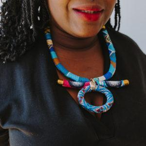collier multicolore africantouch
