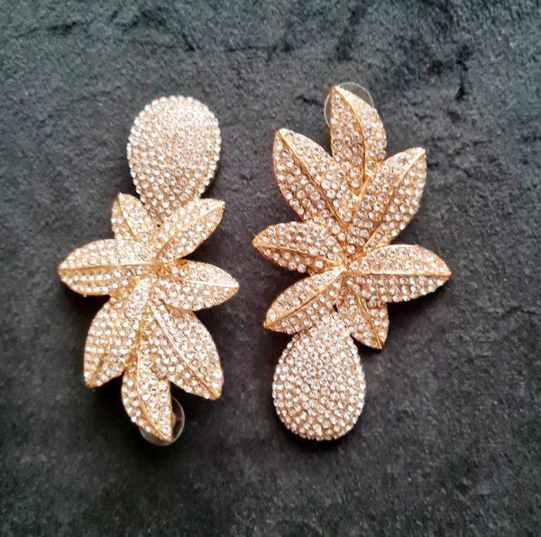Boucles d'oreilles fashion afro