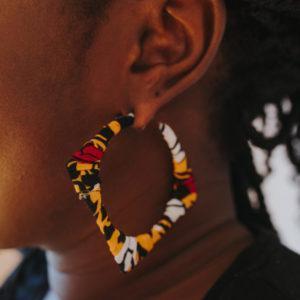 boucles d'oreilles Tendances Wax