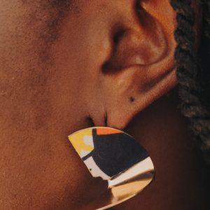 boucles d'oreilles Originales Wax